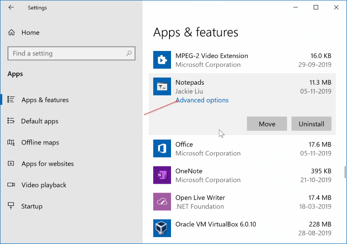 3 Ways To Check Version Number Of Apps & Programs In Windows 10