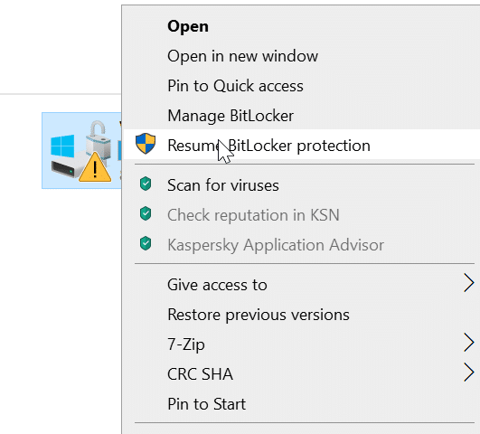 How To Remove Padlock Or Lock Icon From Drives In Windows 10