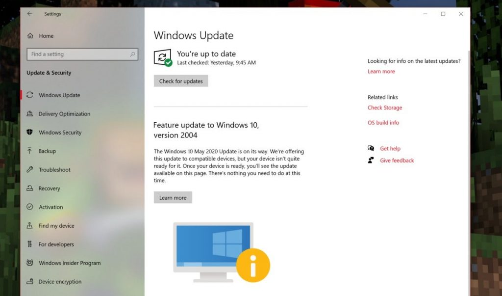How To Upgrade To Windows 10 Version 2004 Right Now